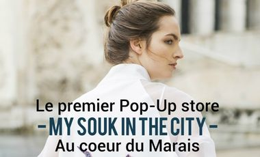 Visueel van project My Souk In The City organise son premier Pop-up Store