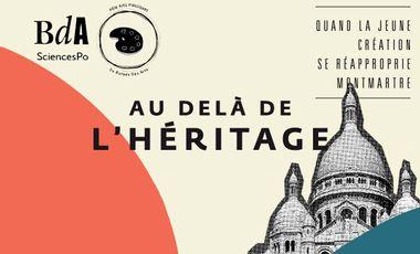"""Project visual Exposition """"Au-delà de l'Héritage"""" : quand la jeune création se réapproprie Montmartre"""