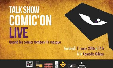 Visuel du projet Comic'On Live