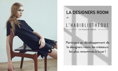 Visuel du projet La Designers Room de L'Habibliothèque