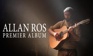 Visuel du projet Allan Ros - Premier album !