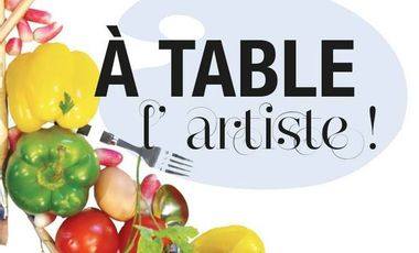 Visueel van project A table l'artiste !