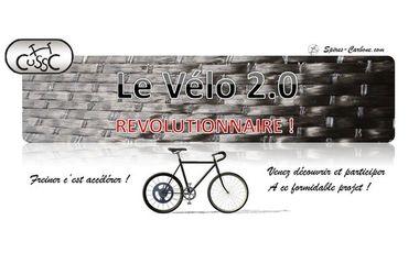 Project visual Le vélo du futur - recycler votre énergie - freiner c'est accélérer