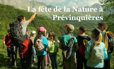 Project visual Fête de la Nature à Prévinquières 2016