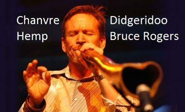 Project visual Un Didgeridoo en Chanvre pour Bruce Rogers