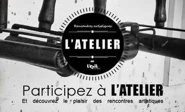 Project visual L'ATELIER - rencontres artistiques