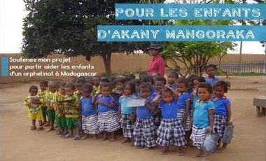 Project visual Pour les enfants d'Akany Mangoraka