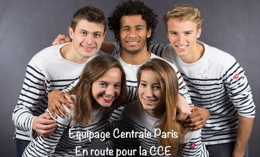 Visueel van project Equipage Centrale Paris - En route pour la CCE