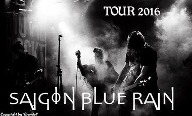 Visuel du projet Saigon Blue Rain Tour 2016 (in support of The Beauty Of Gemina)