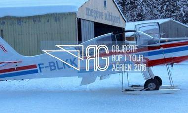 Project visual Objectif HOP ! Tour aérien 2016 - Geoffrey RAGOT