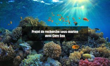 Visuel du projet Projet de recherches sous-marine avec Core Sea