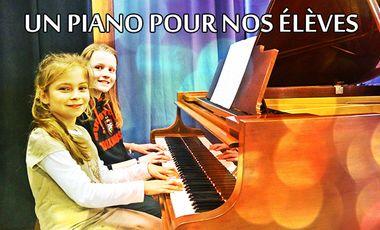 Visueel van project Un piano pour nos élèves