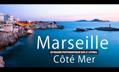 Project visual Marseille Côté Mer, le livre photos du littoral.