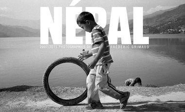 Project visual Népal, un livre pour aider