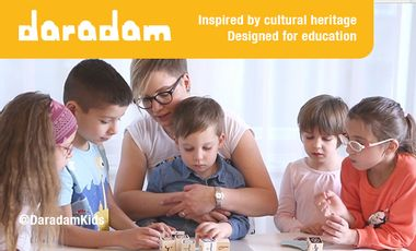 Visueel van project DARADAM TOYS | Arabic language and cultural heritage
