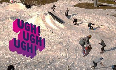 Project visual UGH UGH UGH ! Du snowboard, toi, nous, et bien plus encore !