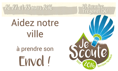 Project visual Je Scoute 2016