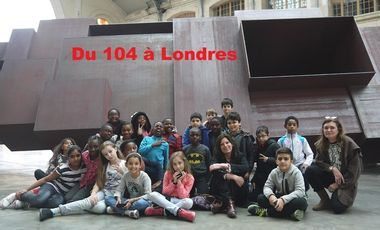 Project visual Du 104 à Londres...