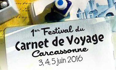 Project visual Festival Carnet de Voyage