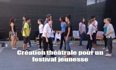 Visuel du projet Création théâtrale pour un festival jeunesse