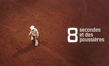 Visuel du projet 8 secondes et des poussières