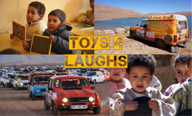 Visueel van project Toys 4 Laughs au 4L Trophy 2017