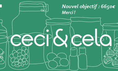 Project visual ceci & cela : l'épicerie zéro déchet de Toulouse