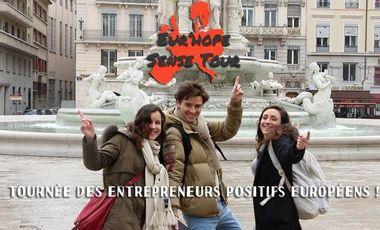 Visuel du projet Eur'Hope Sense Tour - Reportage à la rencontre de jeunes entrepreneurs positifs européens !
