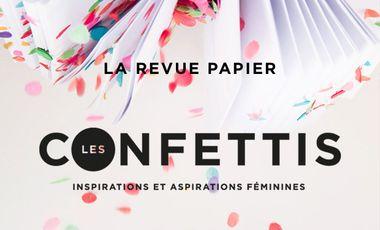 Project visual Les Confettis - La revue papier