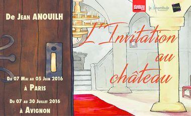 Visueel van project L'Invitation au château, par la compagnie Oxygène