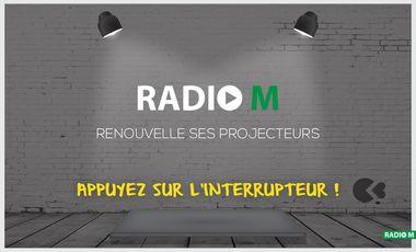 Visueel van project Devenez acteur de l'histoire de Radio M