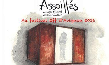 Visueel van project Assoiffés au Festival Off d'Avignon
