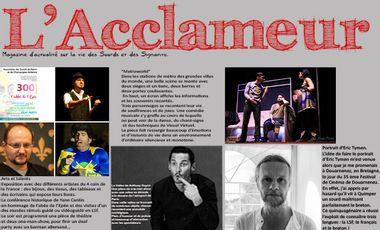 Project visual Magazine : L'Acclameur