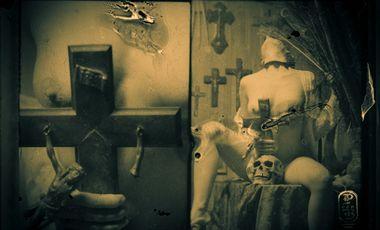 Visueel van project Soombre, édition du livre de la série photo.