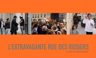 Project visual L'extravagante rue des rosiers