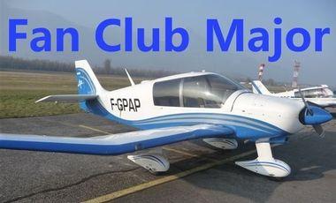 Visuel du projet Equipage Fan Club Major - Rallye Aérien Etudiant