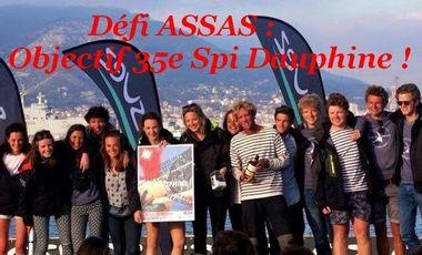 Visueel van project DÉFI ASSAS : Objectif 35e Spi Dauphine !