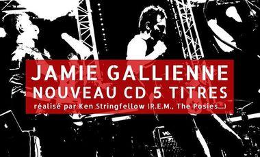 Visuel du projet JAMIE GALLIENNE, nouveau CD 5 titres