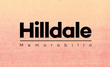 """Visuel du projet Hilldale - """"Memorabilia"""" (2ème EP + clip)"""