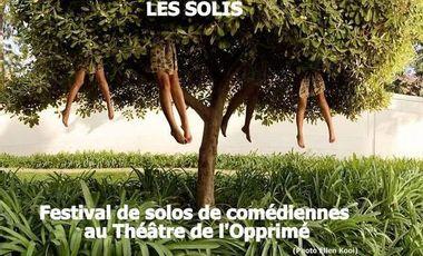 Visueel van project Les Solis / Festival de solos de comédiennes au Théâtre de l'Opprimé