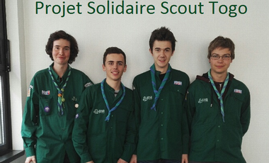 Visuel du projet Projet scout Go to Togo