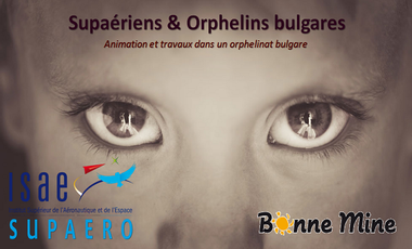 Visueel van project Supaériens & Orphelins bulgares