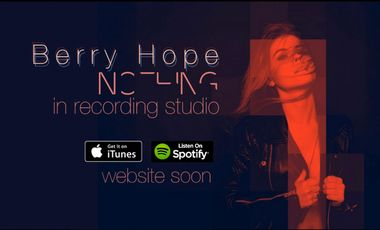Visuel du projet 1er album de Berry hope