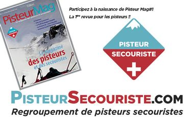 Project visual Pisteur Mag - Le Mag des Pisteurs Secouristes
