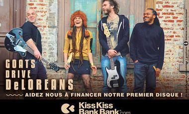 Project visual Les GOATS DRIVE DELOREANS ont BESOIN de VOUS pour sortir leur 1er EP!!!