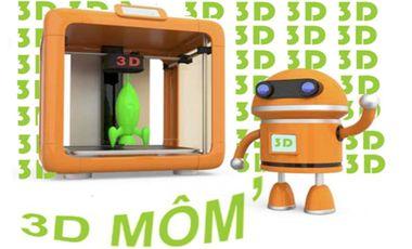 Project visual 3D Môm'