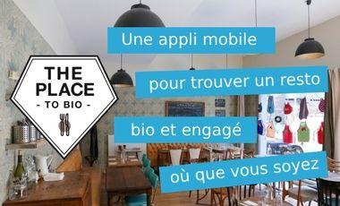 Visuel du projet The Place to Bio : l'appli mobile des restos engagés