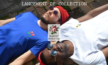 Project visual JOHNNY ROMANCE - LES FLEURS DU MÂLE