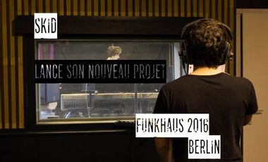 Visueel van project SKID - Soutien au lancement d'un EP solo