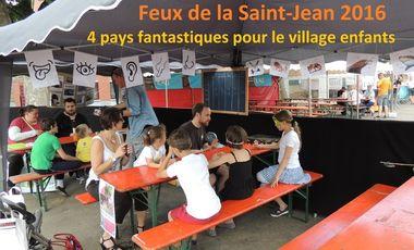 Visuel du projet Feux de la Saint-Jean - 4 pays fantastiques pour les enfants!